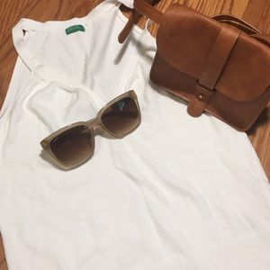 United Colors of Benetton white top